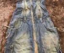 Платье-сарафан джинсовый новый