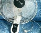 Вентилятор настенный с пультом
