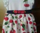 Новое! Платье детское р. 80