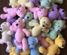 Вязаные плюшевые медведи