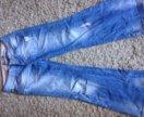 Брюки, джинсы 44 размер