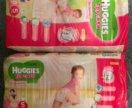 Подгузники-трусики Huggies 5 48шт для девочек.