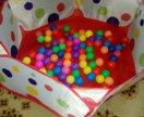 Бассейн + 90 шариков