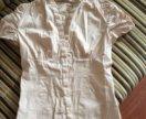 Блузка бежевая Zara размер XS