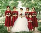 Платья для невесты и подружек
