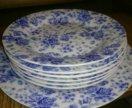 Тарелки 1 больше 6 маленький