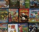 DVD диски детские 12 шт.
