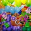 Фигуры из шаров, гелиевые шарики
