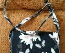Новая кожаная сумка crossbody