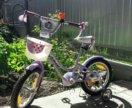 Детский велосипед 3-7лет