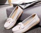 Женские туфли без каблука новые