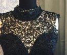 Платье с кружевом, новое