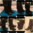 Срочно! Пакет женской обуви( сапоги)