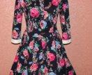 Красивое платье из хлопка