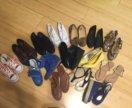 Кучка разной обуви