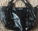 Чёрная удобная сумка