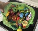 Огромный пакет игрушек , погремушек