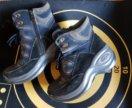 Зимние, замшевые ботинки