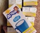 Агуша молоко