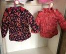 Куртка на девочку 1,5-2,5года