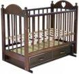 Детская кроватка Любаша (Цвет Вишня)