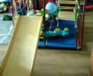 Детский спортивный уголок с горкой.