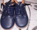Кожанные ботиночки новые