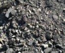 Вторичный щебень в перемешку с песком и асф крошка