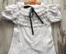 Блуза школьная + подарок