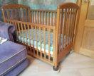 Кровать детская итальянская с матрасом
