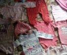 Вещи на девочку пакетом р 60-68