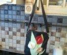 Новая сумка из натуральной кожи