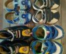 Летняя обувь для мальчика пакетом 11-12 см