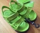 Новые сандали crocs