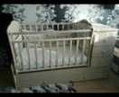 Срочно!!!Детская кроватка-трансформер.