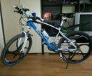 Велосипед BMW X6 трехцвет., гидравлика gd09475
