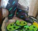 Новые сланцы и резиновые сапоги