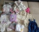 Одежда для девочки 1-3 года пакетом
