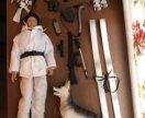 Солдат с собакой power team