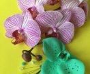 """Заколка """"Дикая орхидея"""""""