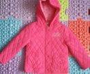 Новая Куртка утепленная теплая 92 +6