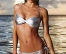 Серебряный купальник Victoria's Secret