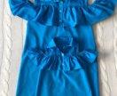Familylook для мамы и дочки (платья)