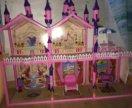 Детский замок с мебелью
