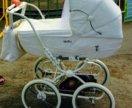 Geoby katarina c605 детская модульная коляска зима