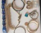 Бижутерия, браслет, серьги, подвеска(за всё)18шт
