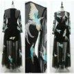 Вечернее платье феникс
