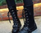 Ботинки (сапоги). Новые. Панк, рок, рейв, готика