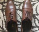 Стильные кожаные мужские туфли