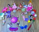 Игрушки для девочки пакетом: куклы, одежда, пупсы